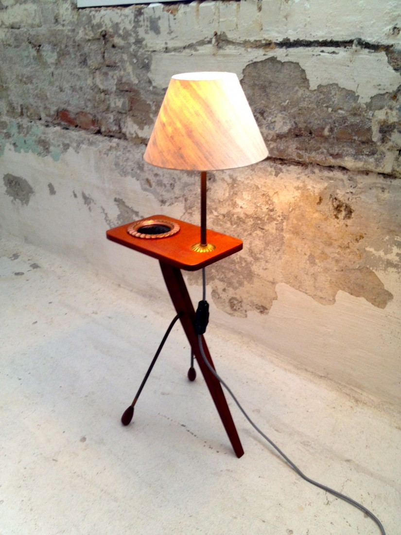 MCM   Side Table   Ground Floor Productions